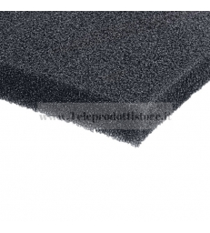Spugna acustica 5mm per rivestimento griglie casse cabinet foam 100 x 100 cm