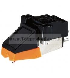 EN-24 Monacor testina stereo MM magnetica completa di Puntina fissaggio 13 mm.
