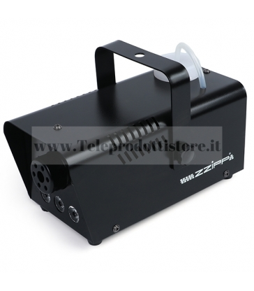 ZZFM400R MONACOR Macchina effetto fumo 400w Led Rosso Fog Machine