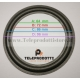 BRP100 SOSPENSIONE ALTOPARLANTE WOOFER 100 MM. 10 CM. BORDO DI RICAMBIO IN FOAM