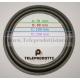 BRP110 Sospensione di ricambio per woofer midrange in foam bordo 110 mm. 11 cm.