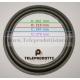 """BRP280 Sospensione di ricambio per woofer midrange in foam bordo 280 mm. 28 cm. 11"""""""