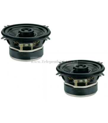 CX102 COPPIA COASSIALE CIARE 100mm 100W AUTO CAR WOOFER 2 VIE CX-102 CX 102 4 OHM