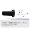 YAC413 tubo di accordo da 44mm in ABS per casse acustiche bass reflex Ciare