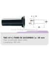 YAC411 tubo di accordo 60mm in ABS per casse bass reflex Ciare YAC 411 YAC-411