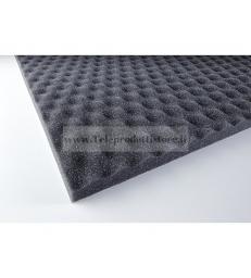 YAC824 Spugna poliuretano bugnato fonoassorbente adesiva per diffusori acustici Ciare