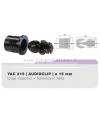 YAC215 Kit di 4 audioclip grandi 15mm per griglie diffusori acustici audio clip
