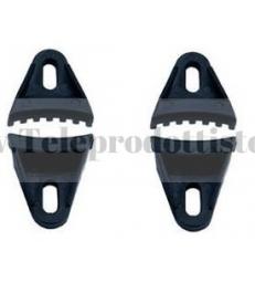 YGS Kit Staffa per griglia 4 pezzi in ABS staffe supporti