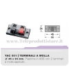 YAC001 Vaschetta portaterminali con contatti a molla CIARE porta terminali