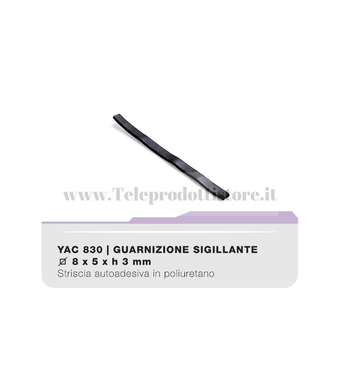 YAC830 Guarnizione sigillante adesiva per diffusori acustici woofer CIARE