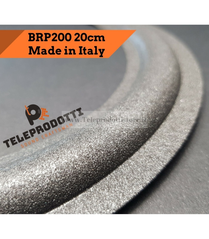 BRP200 Sospensione di ricambio per woofer /midrange in foam bordo 200 mm. 20 cm. 8""