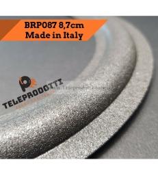 BRP087 Sospensione di ricambio per woofer / midrange in foam bordo 87 mm. 8.7 cm.