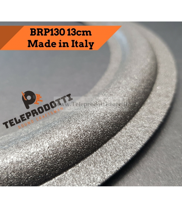 BRP130 Sospensione altoparlante woofer 130 mm. 13 cm. bordo di ricambio in foam