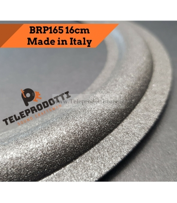 BRP165 Sospensione altoparlante woofer 165 mm 16,5 cm bordo di ricambio in foam