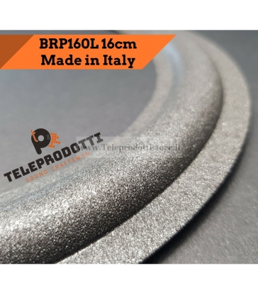 BRP160L Sospensione altoparlante woofer 160 mm. 16 cm bordo di ricambio in foam