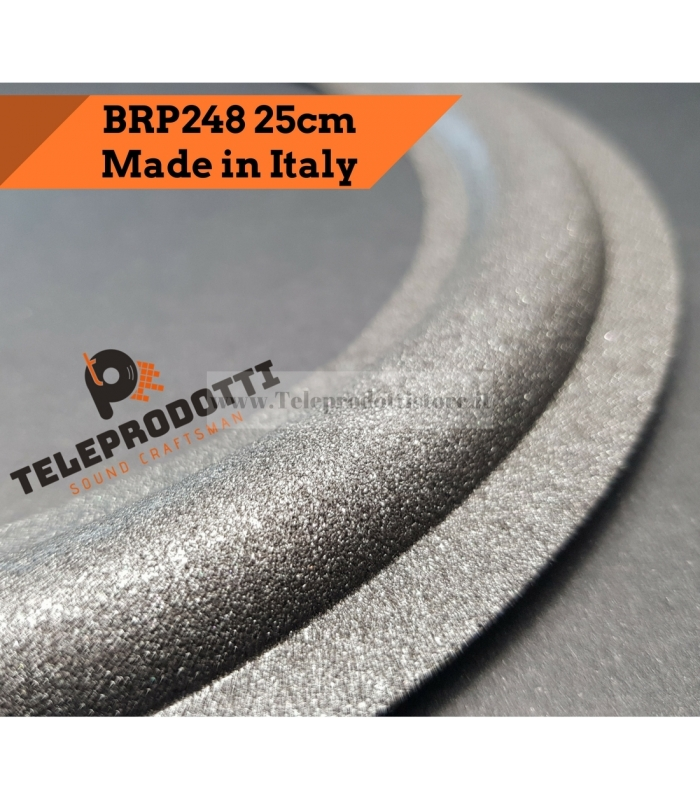 BRP248 Sospensione altoparlante woofer 248 mm. 24,8 cm bordo di ricambio in foam