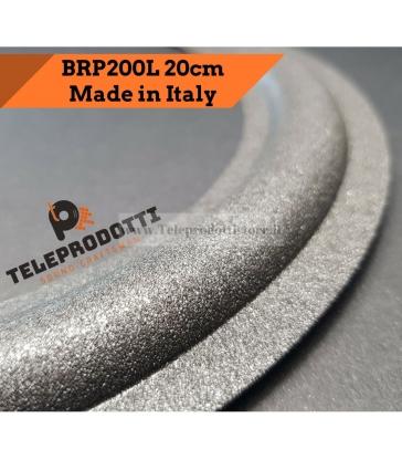 "BRP200L Sospensione di ricambio per woofer midrange in foam bordo 200 mm. 20 cm. 8"""