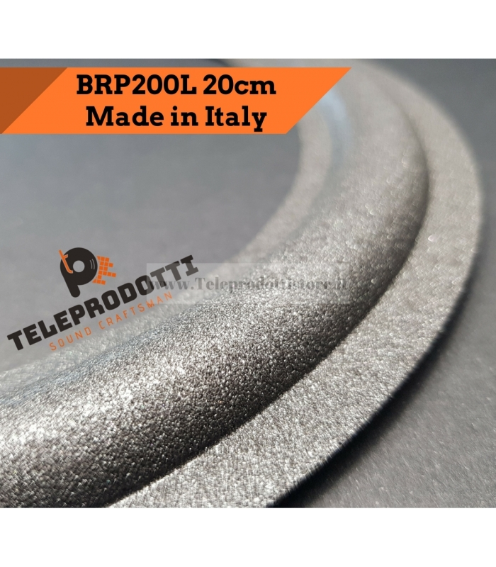 BRP200L Sospensione altoparlante woofer 200 mm. 20 cm. bordo di ricambio in foam