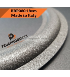 BRP080.1 Sospensione di ricambio per woofer midrange in foam bordo 80 mm. 8.0 cm.