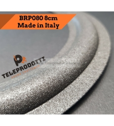BRP080 Sospensione altoparlante in foam woofer 80 mm. 8 cm. bordo di ricambio