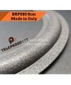 BRP080 Sospensione di ricambio per woofer midrange in foam bordo 80 mm. 8 cm.