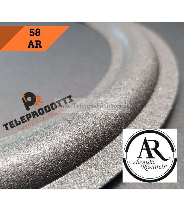 AR 58 Sospensione di ricambio per woofer in foam bordo AR Acoustic Reserch 28 cm.
