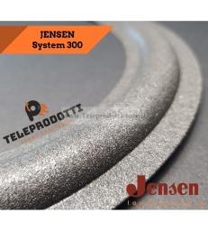 """Jensen woofer System 300 Sospensione 10"""" 25 cm. 250 mm. bordo di ricambio in foam specifico"""