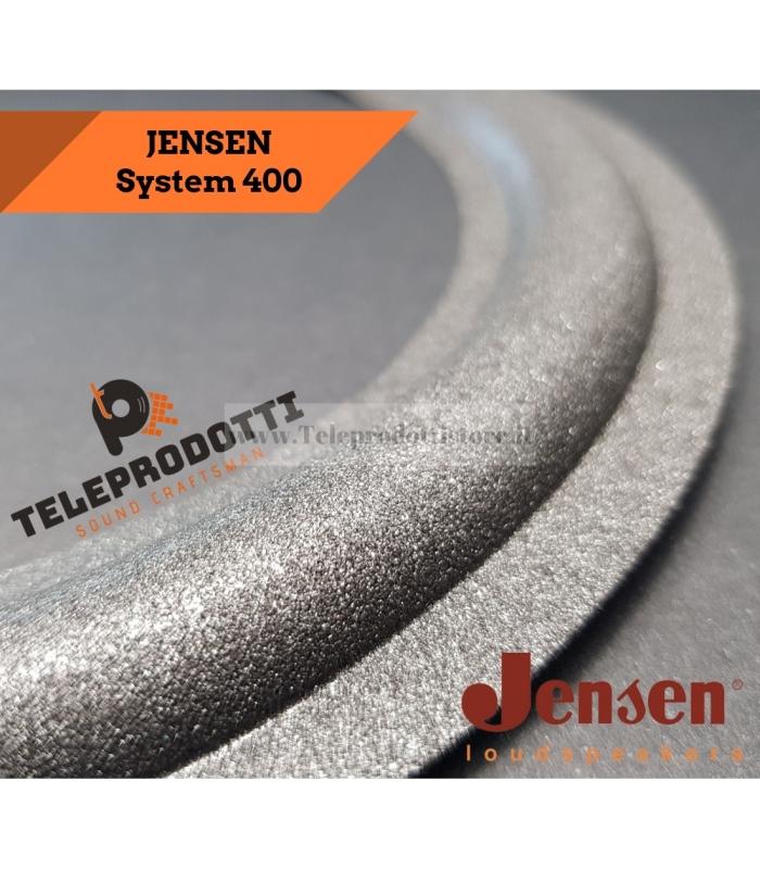 """JENSEN WOOFER SYSTEM 400 Sospensione di ricambio per woofer in foam bordo 10"""" 25 cm. 250 mm."""