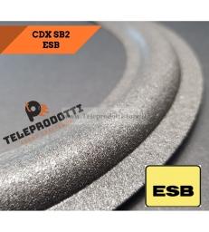 ESB CDX SB2 Sospensione di ricambio per woofer in foam bordo 16 cm. CDX-SB2 SB 2