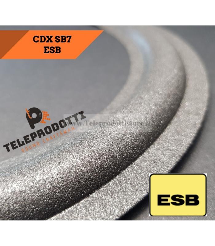 ESB CDX SB7 Sospensione di ricambio per midrange in foam bordo CDX-SB7 SB 7 10 cm.