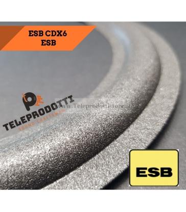 ESB CDX SB6 Sospensione ricambio midrange 100mm Foam bordo CDX-SB6 SB 6