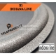 X1 Sospensione indianaline Foam di ricambio specifica Bordo indiana line