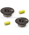 COPPIA CT-382 TWEETER CIARE 400W SPL CAR AUTO 6 Ohm con condensatori CT382