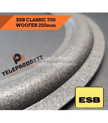 ESB CLASSIC 700 4760 Sospensione ricambio woofer SUB 250mm FOAM bordo CLASSIC-700