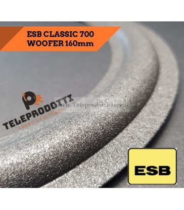ESB CLASSIC 700 4840 Sospensione ricambio woofer 160mm MID foam bordo CLASSIC-700