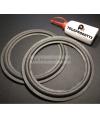 BRP200K kit 2 Sospensioni di ricambio per woofer midrange in foam bordo e colla 200 mm. 20 cm.