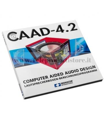 CAAD-4.2 MONACOR Programma software progettazione e simulazione casse acustiche