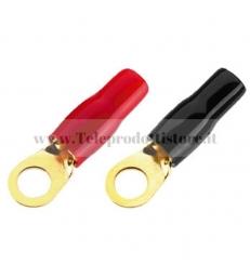 MFC-416R Set capicorda ad anello per positivo o negativo in auto occhiello batteria