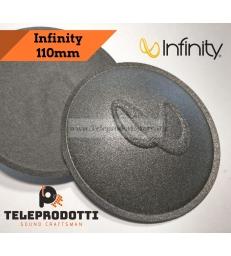 Coppia Cupole parapolvere Infinity 110 mm copripolvere cupola di ricambio altoparlanti