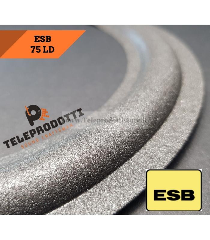 ESB 75LD Sospensione di ricambio per woofer 250 mm. in foam bordo 75 LD 75/LD