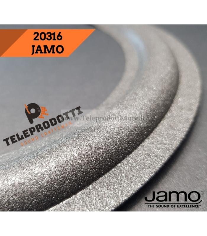 JAMO 20316 Sospensione di ricambio per sub woofer in foam bordo E4SUB1 20 cm.
