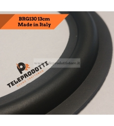 BRG130 Sospensione woofer altoparlante 130 mm. 13 cm. bordo di ricambio in gomma