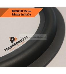 """BRG250 Sospensione di ricambio per woofer midrange in gomma bordo 250 mm. 25 cm. 10"""""""
