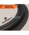 """BRG300 Sospensione di ricambio per woofer midrange in gomma bordo 300 mm. 30 cm. 12"""""""