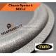 CHARIO SYNTAR 4 Sospensione di ricambio per woofer in foam bordo 20 cm. MK2 MK1