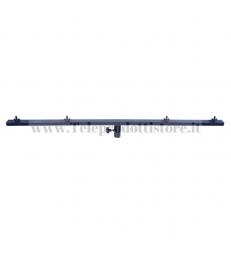 LSZZ021 Traversa per 4 Fari staffa stativo t barra 4 luci alluminio nero