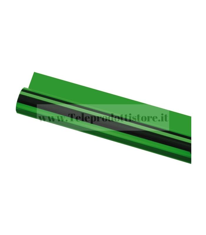 LCF-124/GN Foglio pellicola gelatina verde per fari PAR56 PAR64 filtro colore