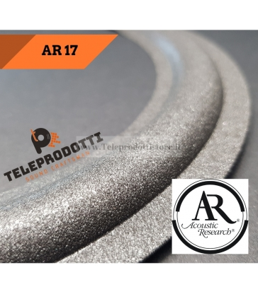 AR 17 Sospensione bordo di ricambio in foam woofer altoparlante per Acoustic Reserch 17