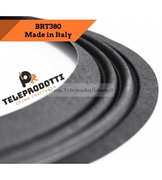 "BRT380 Sospensione altoparlante in tela woofer 380 mm. 38 cm 15"" bordo di ricambio"