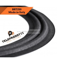 "BRT250 Sospensione altoparlante in tela woofer 250 mm. 25 cm 10"" bordo di ricambio"